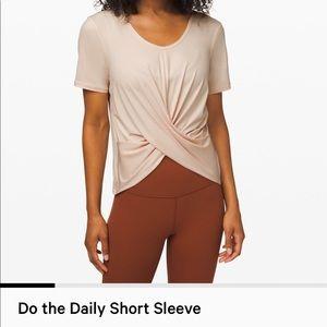 Lululemon Do The Daily Short Sleeve